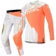 Completo motocross Alpinestars 2020 Techstar FACTORY white orange fluo Enduro Quad