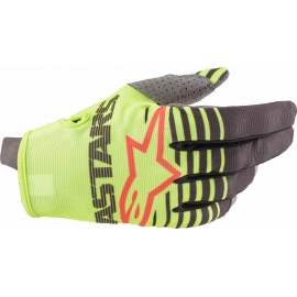 ALPINESTARS GUANTO RADAR yellow fluo antracite motocross enduro quad mtb