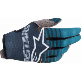 ALPINESTARS GUANTO RADAR petrolio navy motocross enduro quad mtb