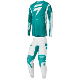 Completo motocross 2020 SHIFT 3LACK LABEL RACE green enduro quad