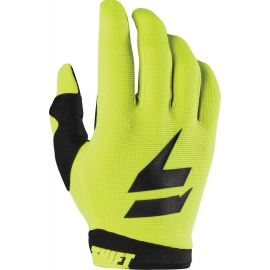 SHIFT WHIT3 AIR yellow fluo guanto motocross enduro quad
