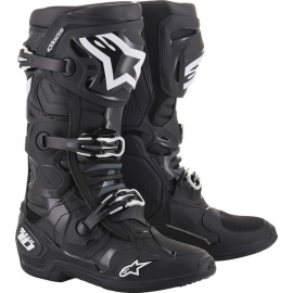 ALPINESTARS TECH 10 BLACK motocross enduro quad