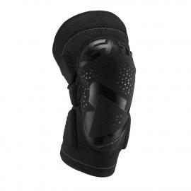 Leatt Knee Guard 3DF 5.0 Coppia Ginocchiere Motocross Enduro Mtb Dh colore nero