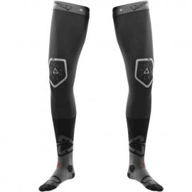 LEATT KNEE BRACE SOCK nero rossa calza per ginocchiera motocross enduro quad