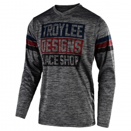 Completo Motocross Troy Lee Designs 2020  GP PANTAOLONE E GP ELSINORE MAGLIA marrone  grigio enduro quad