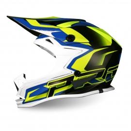 PROGRIP MX 3009 AP71 bambino giallo fluo blu casco motocross enduro quad