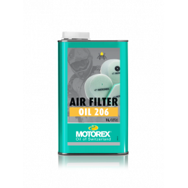 MOTOREX AIR FILTER OIL 206 per filtri aria motocross enduro