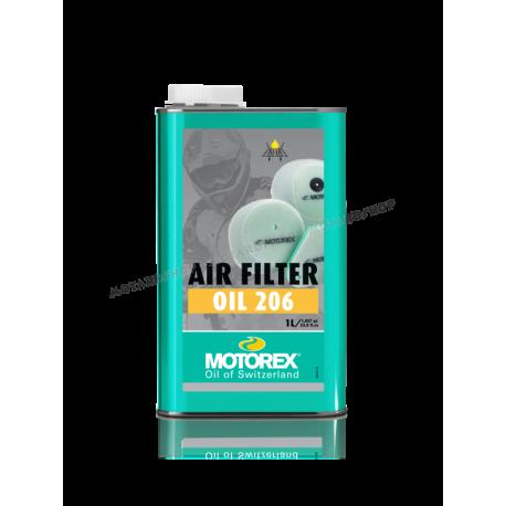 MOTOREX AIR FILTER OIL 206 per filtri aria motocross enduro