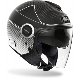 Casco Airoh HELIOS MAP black scooter vespa moto