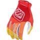 Guanto  TROY LEE DESIGNS AIR JET 2020 rosso e giallo motocross Enduro DH