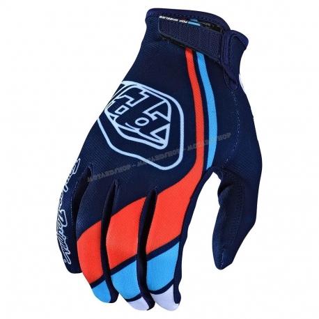 Guanto  TROY LEE DESIGNS AIR SECA 2020 blu motocross Enduro DH