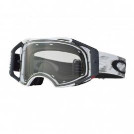 Oakley Airbrake MX WHITE SPEED lente trasparente maschera Motocross Enduro Mtb