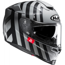 Casco integrale HJC RPHA70 FORVIC grey black moto da strada scooter