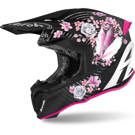 CASCO AIROH TWIST 2.0 MAD matt motocross, enduro