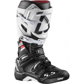 Stivali LEATT GPX 5.5 FLEXLOCK nero bianco motocross enduro