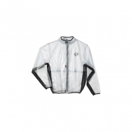 FOX FLUID MX JACKET nero giubbotto antipioggia