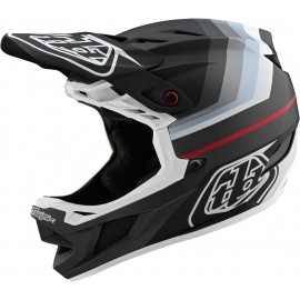 Casco TROY LEE DESIGNS D4 COMPOSITE MIRAGE black silver dh enduro mtb