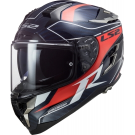 Casco integrale LS2 FF327 CHALLENGER CARBON CT2 GRID Moto Scooter