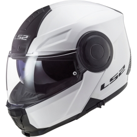 Casco Apribile Modulare LS2 FF902 SCOPE white moto scooter