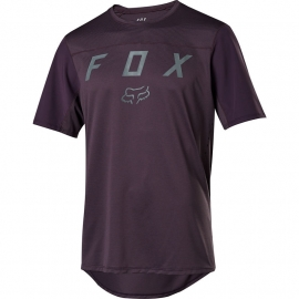 Maglia manica corta FLEXAIR collezione 2020 viola scuro Downhill ENDURO MTB