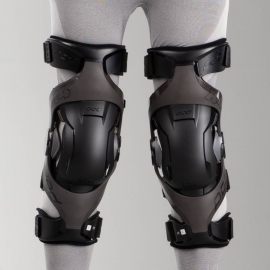 POD K4 Tutore Ortopedico Knee Brace grafite Motocross Enduro Quad