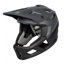 ENDURA 2020 MT500 FULL FACE CASCO BICI MTB DH Nero Opaco