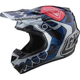 Casco TROY LEE DESIGNS SE4  SKULLY motocross Enduro Quad