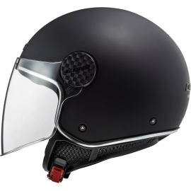 Casco jet LS2 OF558 Sphere LUX nero opaco Moto Scooter