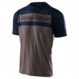 TROY LEE DESIGNS SKYLINE AIR FTR valnut navy maglia manica corta MTB DH ENDURO