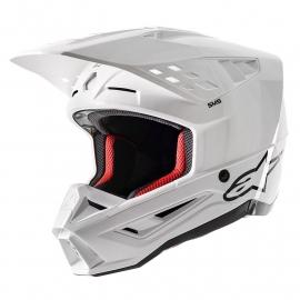 ALPINESTARS SM-5 bianco casco motocross quad enduro