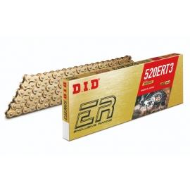 DID 520 ERT3  GOLD catena 120 MAGLIE motocross enduro