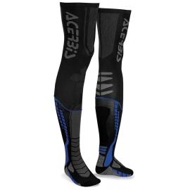 ACERBIS calza X-LEG PRO calza nera blu per tutore motocross enduro quad