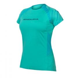 ENDURA  SINGLETRACK maglietta donna manica corta blu pacifico mtb enduro dh