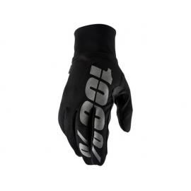 100% HYDROMATIC Guanto invernale nero Motocross Enduro Mtb
