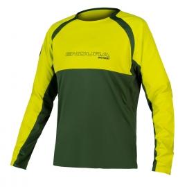 ENDURA MT500 BURNER JERSEY II verde maglia manica lunga tecnica mtb