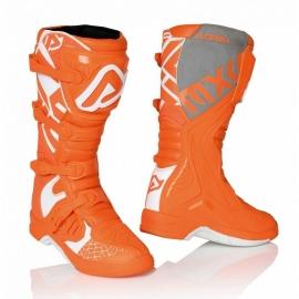 Stivale ACERBIS X-TEAM arancione bianco motocross enduro quad