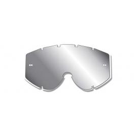 PROGRIP Lenti specchio argento maschera ATZAKI motocross quad enduro