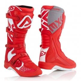 Stivale ACERBIS X-TEAM rosso bianco motocross enduro quad