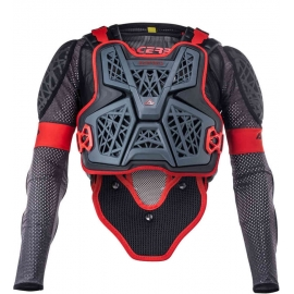 ACERBIS PETTORINA BODY ARMOUR GALAXY grigio nero motocross enduro quad