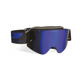 Maschera PROGRIP 3205 MAGNETIC lente specchiata blu motocross enduro mtb