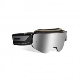 Maschera PROGRIP 3205 MAGNETIC lente specchiata argento motocross enduro mtb
