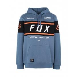 FOX FX OFFICIAL PULLOVER FELPA AZZURRO Maniche Lunghe casual motocross