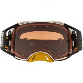 Oakley Airbrake MX HAZARD GUNMETAL maschera Motocross Enduro Mtb