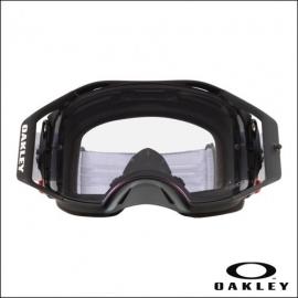 Oakley Airbrake MX MATT BLACK lente PRIZM maschera Motocross Enduro Mtb