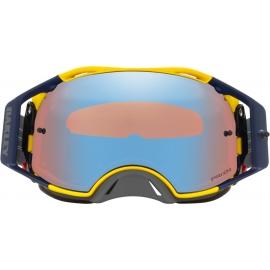 Oakley Airbrake MX B1B HERITAGE lente PRIZM SAPPHIRE maschera Motocross Enduro Mtb