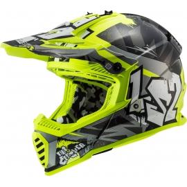 CASCO LS2 MX437 Fast EVO mini CRUSHER motocross enduro bambino