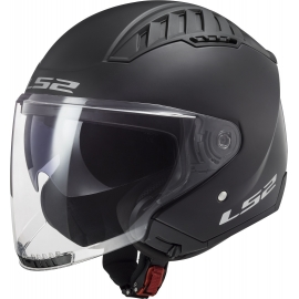 CASCO JET LS2 OF600 COPTER nero opaco moto strada scooter