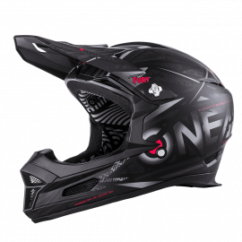 O'NEAL Casco MTB Downhill FURY SYNTHY nero