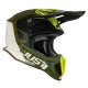 Casco Just1 J18 MIPS PULSAR LIM. EDITION ARMY verde nero bianco motocross Enduro Quad Supermotard