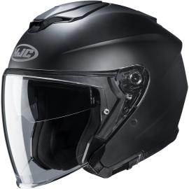 Casco JET HJC i30 nero opaco moto da strada scooter